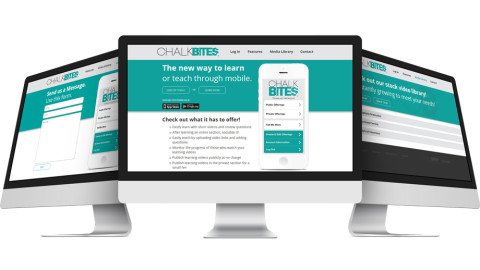 Chalk Bites Website