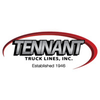 Tennant Truck Lines Inc Logo Established 1946