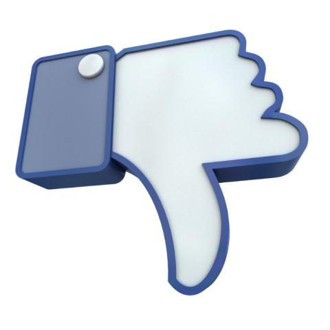 Facebook Style Thumbs Down