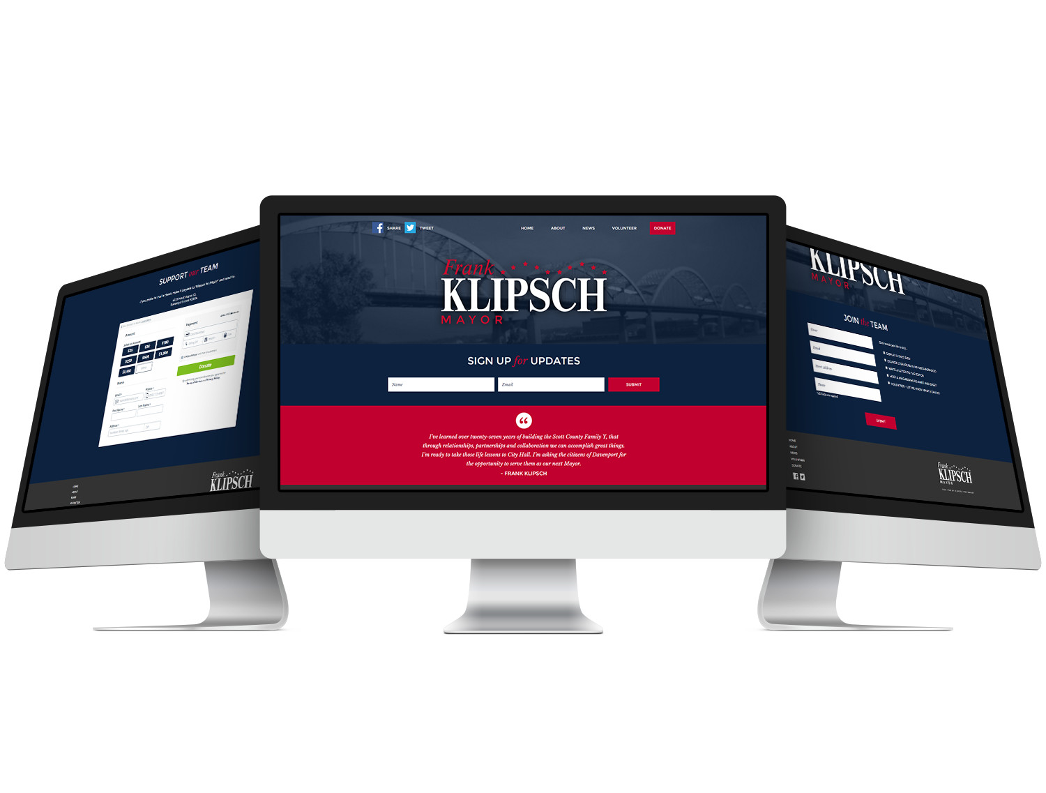 Frank Klipsch Website