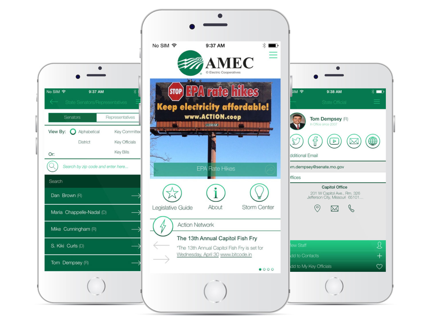Association of Missouri Electric Cooperative Mobile App