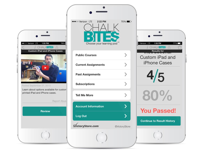 ChalkBites Mobile App