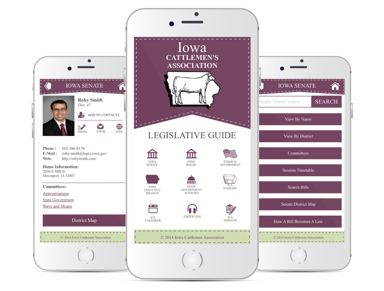 Iowa Cattlemen's Association Mobile App