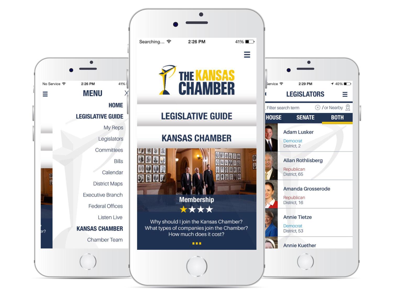 The Kansas Chamber Mobile App
