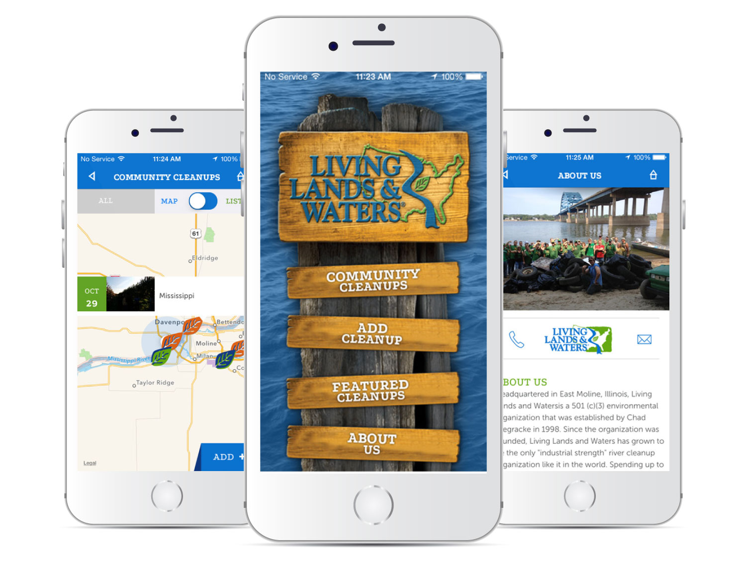 Living Lands and Water Mobile App
