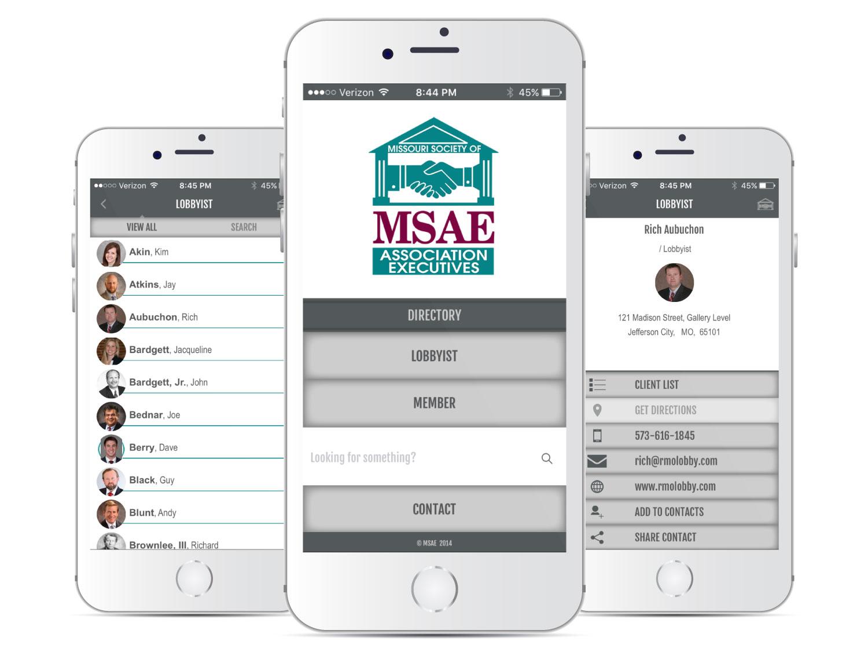 MSAE Mobile App