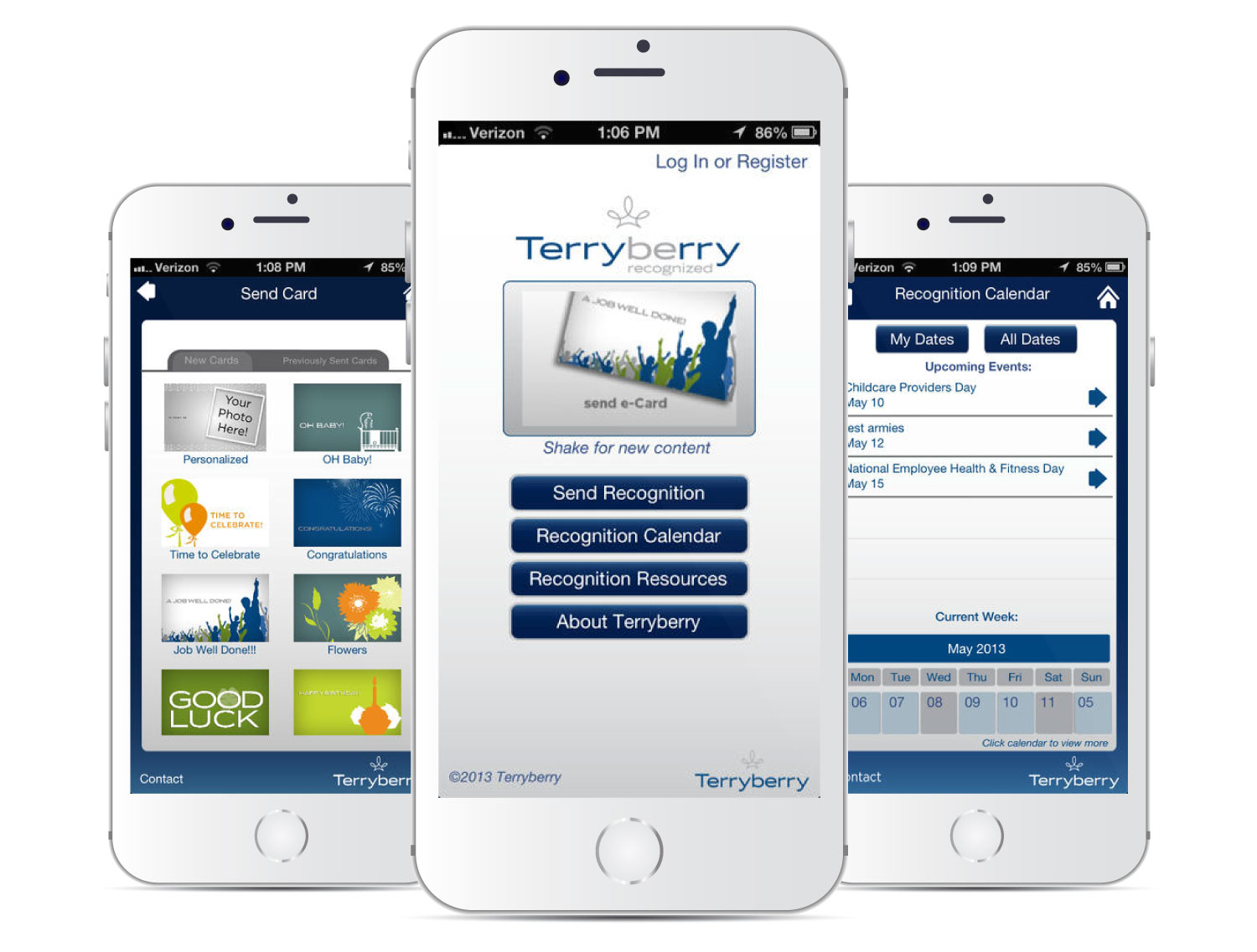 TerryBerry Recognized Mobile App