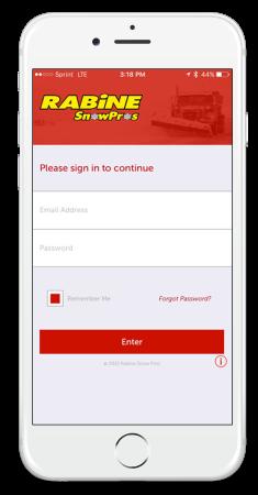 Rabine SnowPros Mobile App