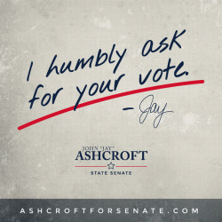Jay Ashcroft Text AshCroftforSenate.com