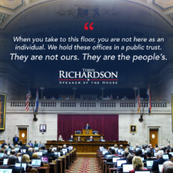 Todd Richardson Speech With Quote