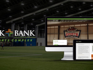 VE Product Highlight:  TBK Bank Sports Complex Website