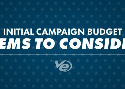 Initial Campaign Budget Items to Consider