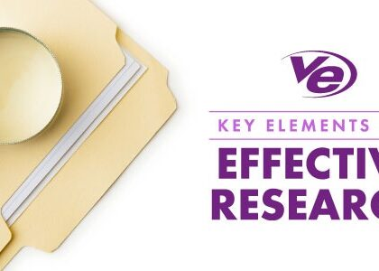 Key Elements for Effective Research